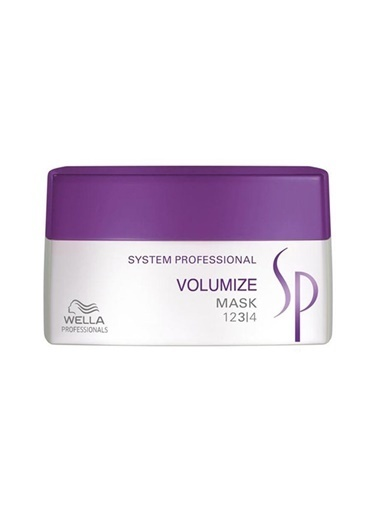Wella Wella Sp Volumize Hacim Maskesi 200 Ml Renksiz